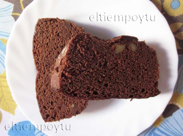 Brownie al microondas postres faciles